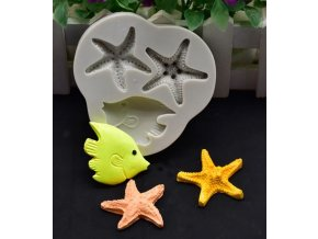 hvězdice a ryba