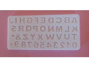 kapitálky s čísly 1,2 cm