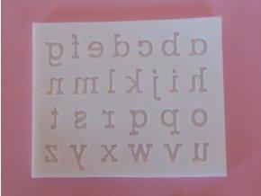 malá písmena 1,2 1,8 cm