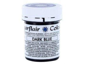 Dark Blue do čokol.