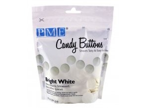 pme candy buttons white