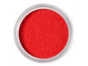 prach. Cherry red