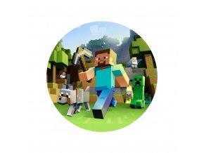 Minecraft kruh 3