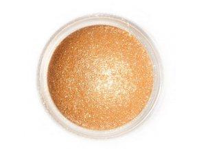 prach. Sparkling gold