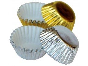 alvarak košíčky zlaté a stříbrné