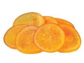 kandované pomeranče plátky