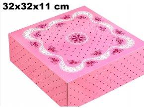 dort. krabice růžová