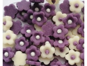 kytičky drobné fialové