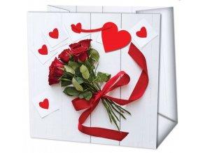 dárk. taška s růžemi