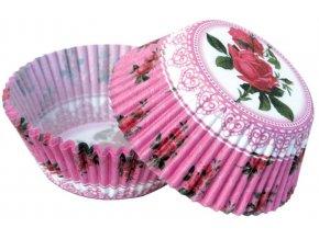 košíčky s růžemi