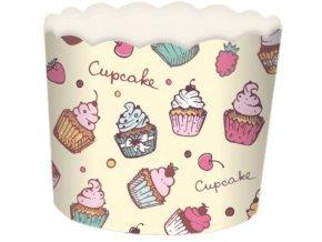 košíčky karton cupcks