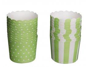 košíčky orion zelené