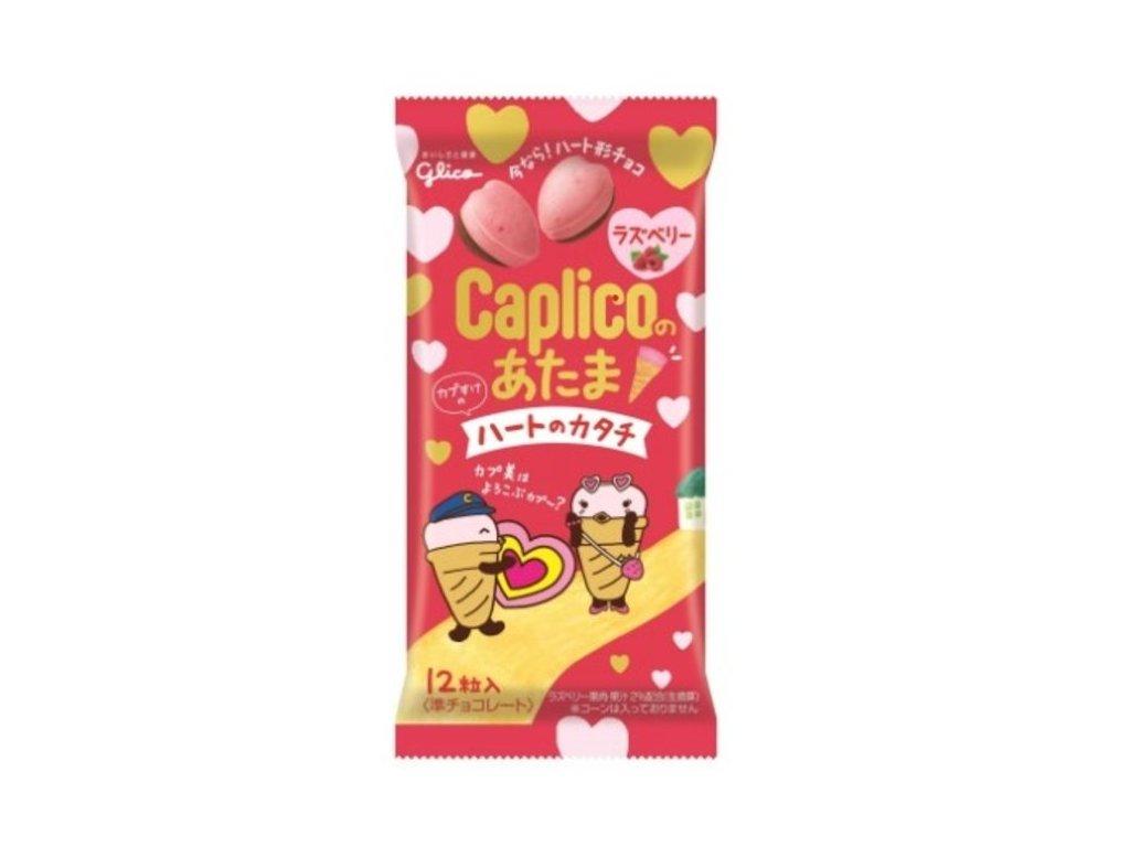 Glico Biscuit Sticks Caplico Raspberry 34g
