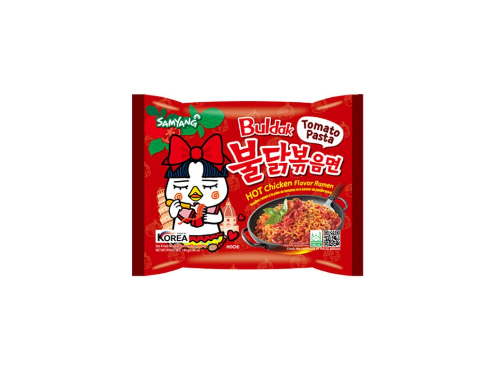 Samyang Hot Chicken Ramen Tomato Pasta 140g