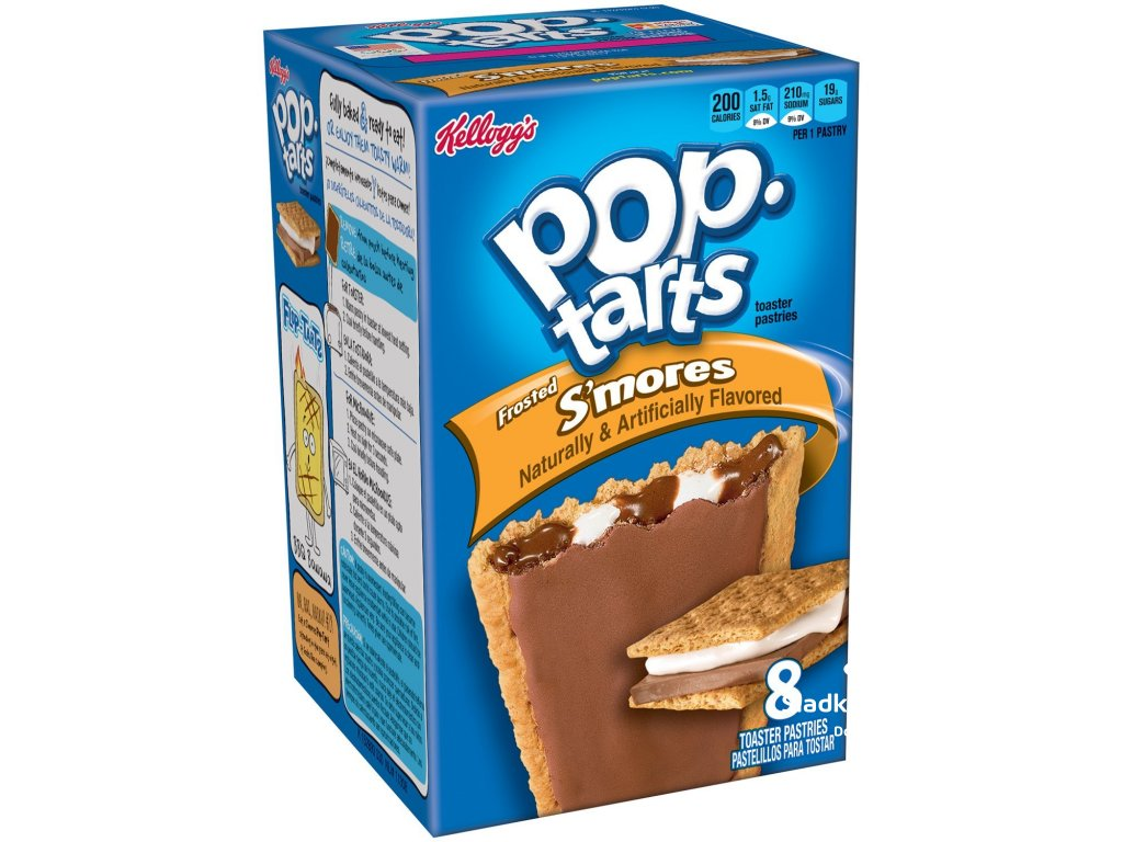 Kellogg's Pop Tarts Frosted S'Mores 384g