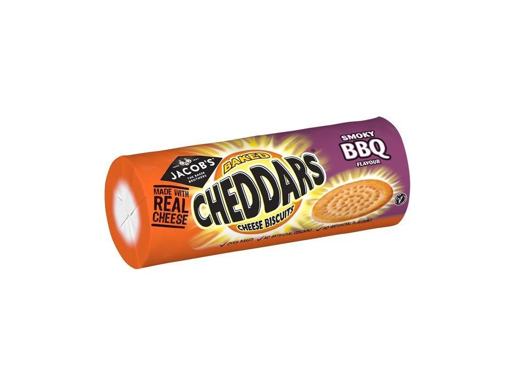Jacobs Cheddars Smokey BBQ 150g