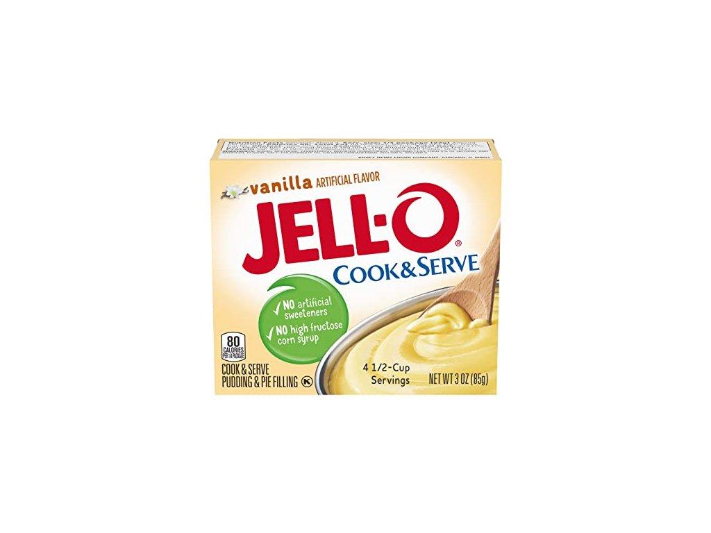 Jell-O Cook & Serve Dessert Mix Vanilla 85g