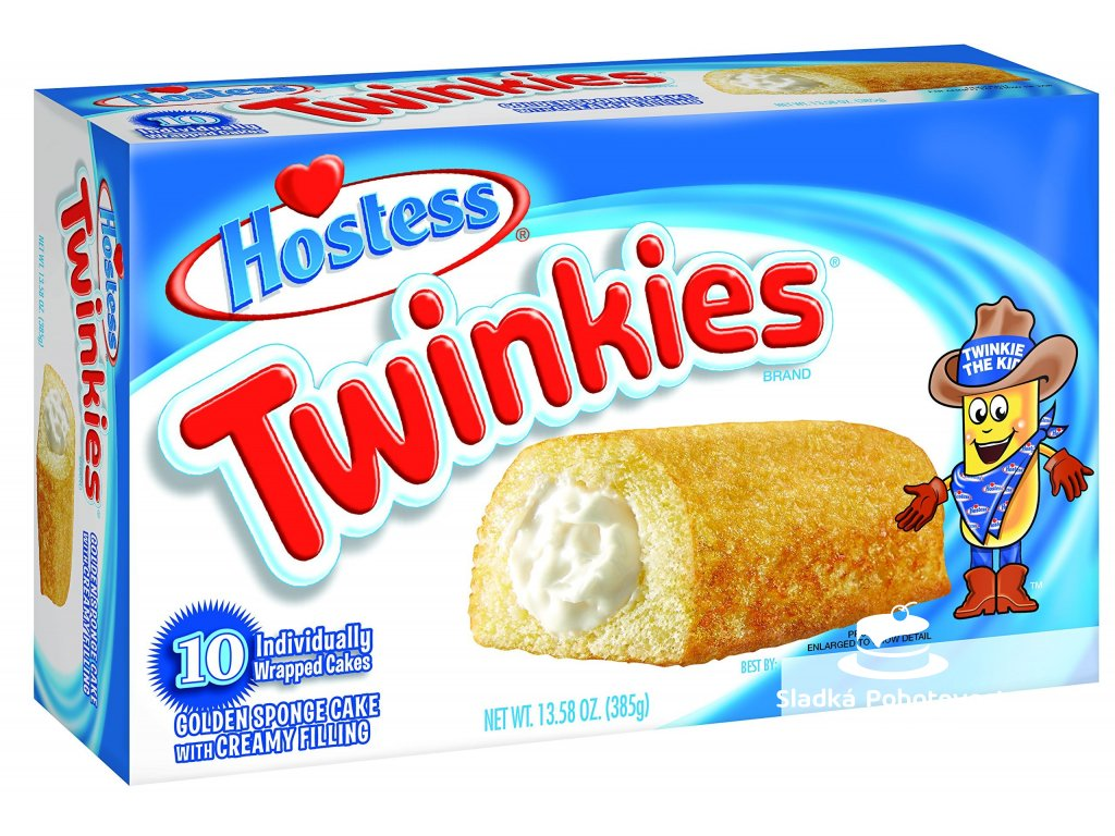 Hostess Twinkies Vanilla 385g  Twinkies