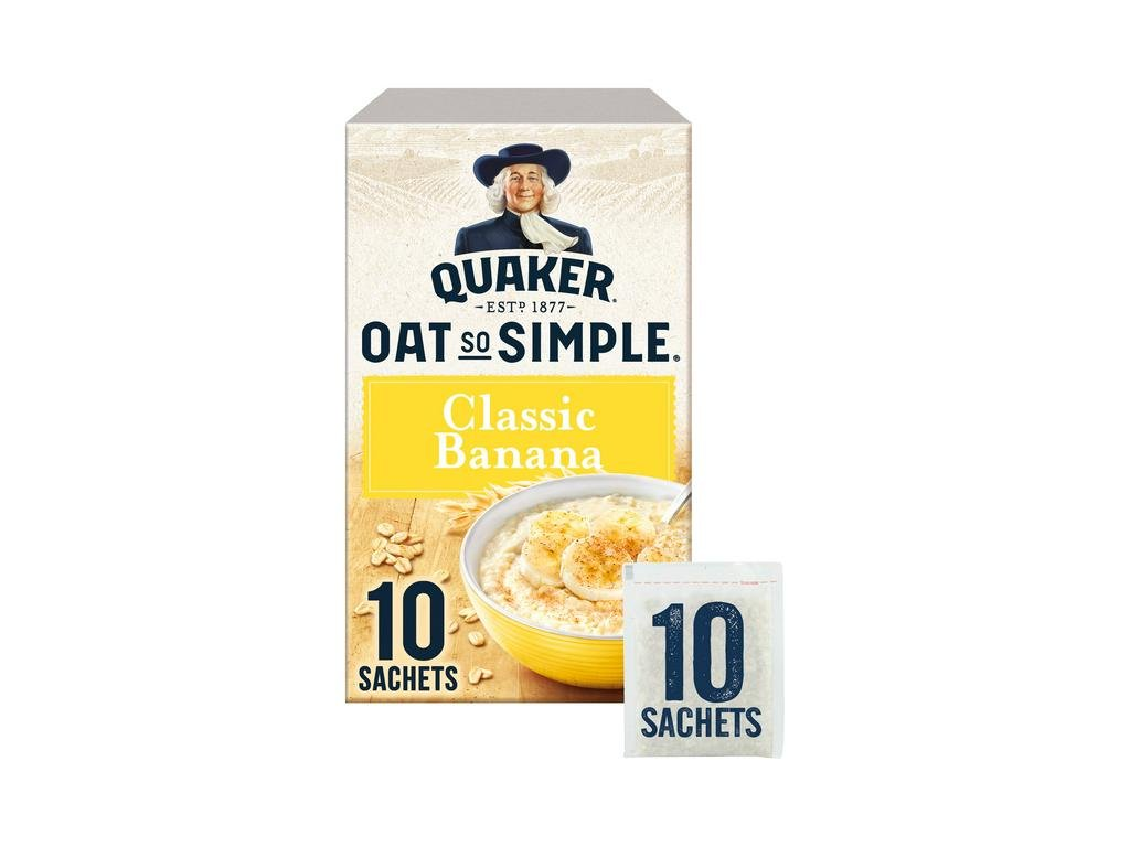 Quaker Banana 384g