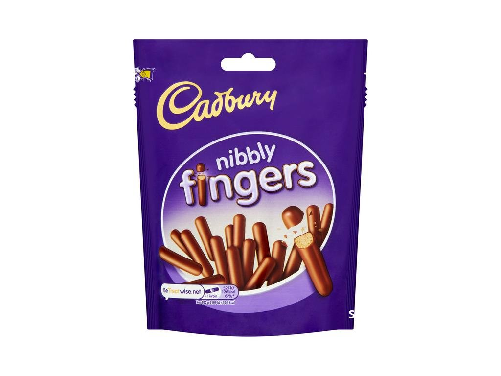 Cadbury Nibbly Fingers Pouch 125g