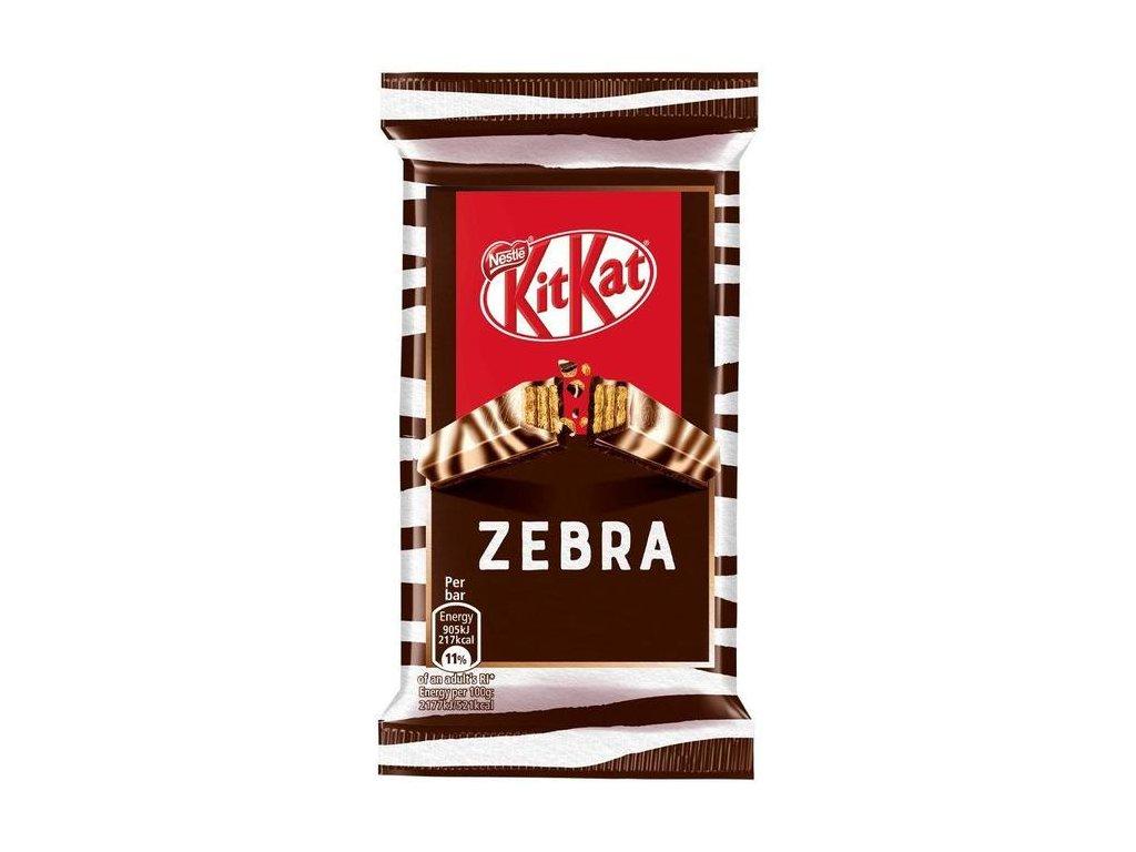 Nestle Kitkat 4 Finger Zebra 41g