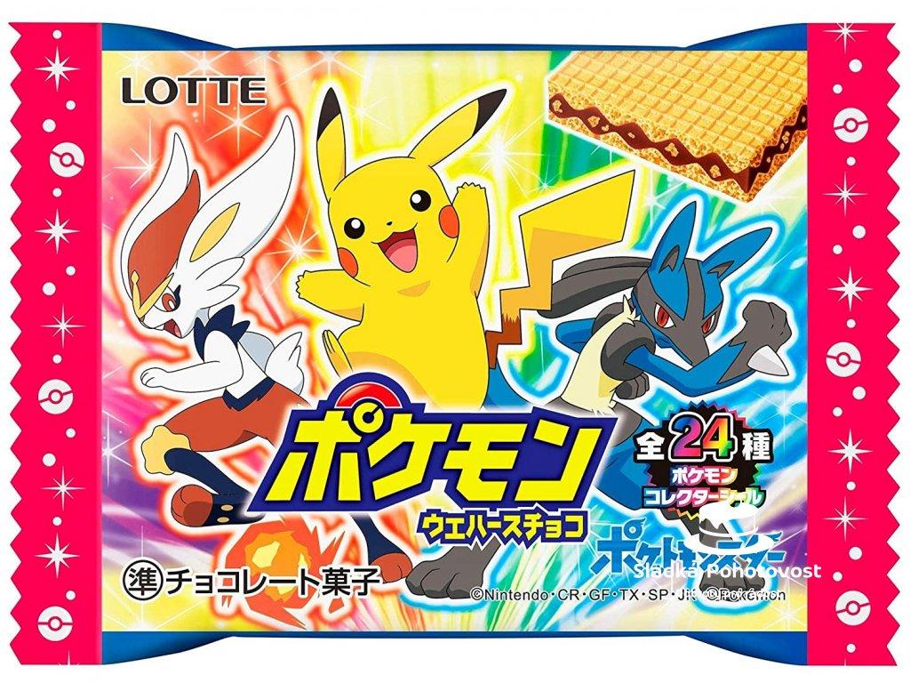 Pokemon Wafers Chocolate 23g