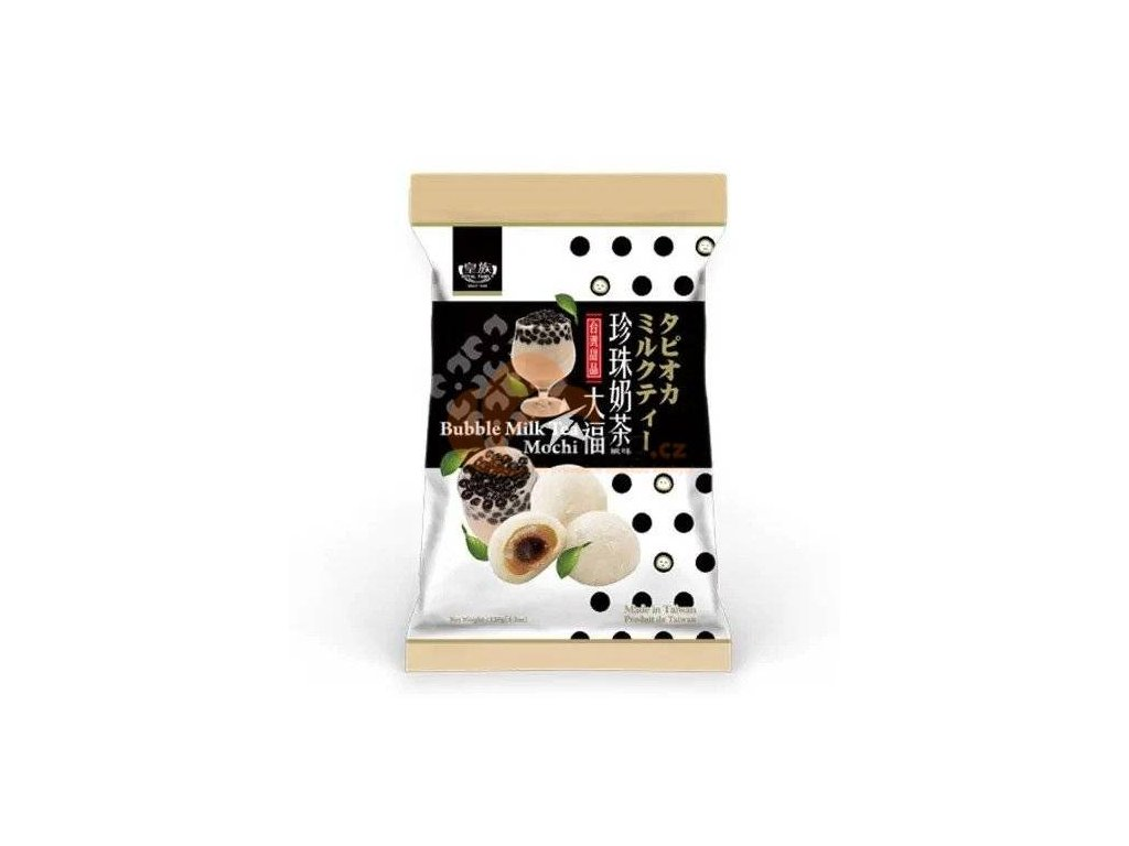 TW Bubble Milk Tea Mochi 120g