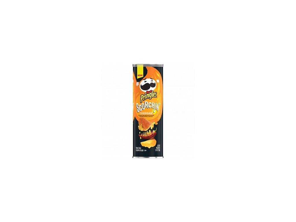 Pringles Scorchin Cheddar 158g