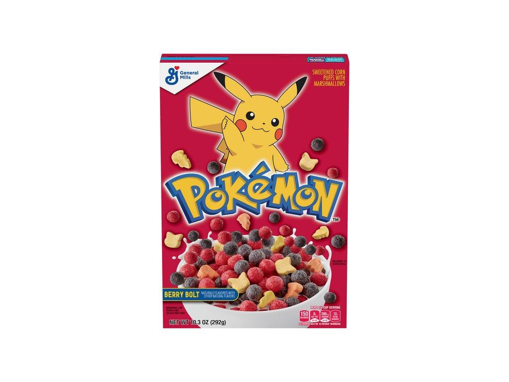 Pokemon Cereal Berry Bolt 292g
