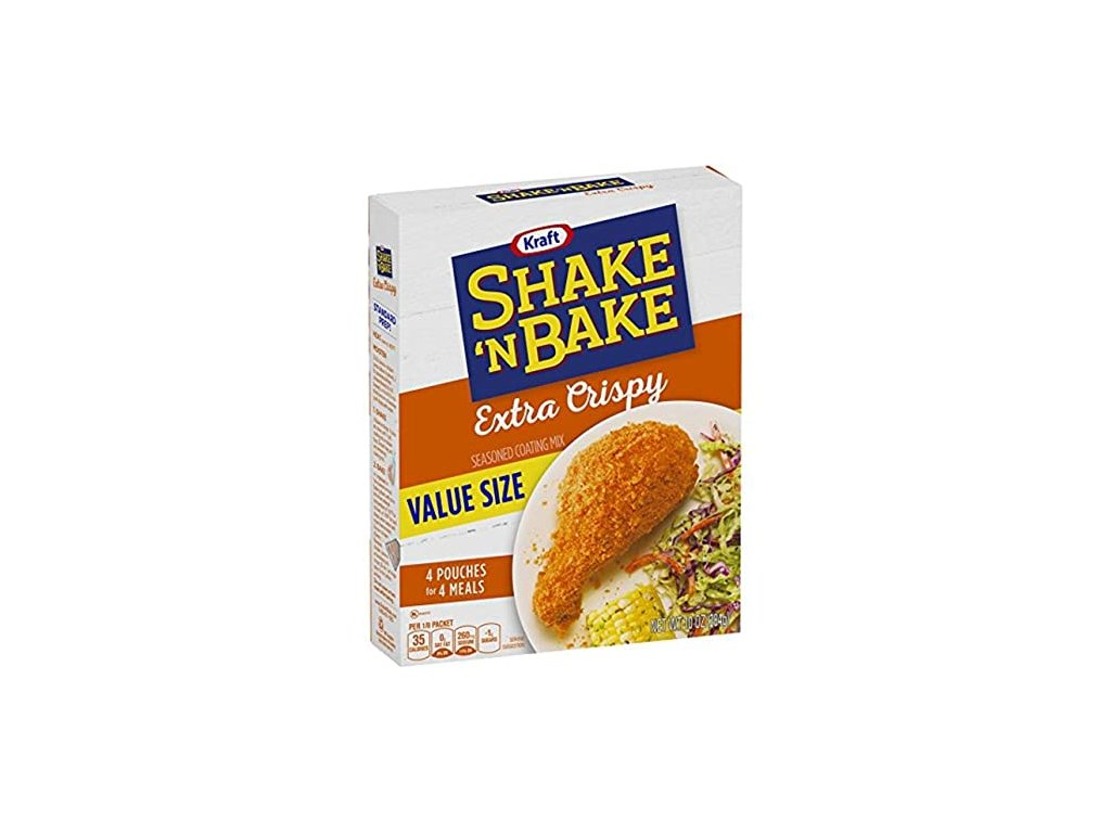 Kraft Shake 'N Bake Seasoning Extra Crispy 141g