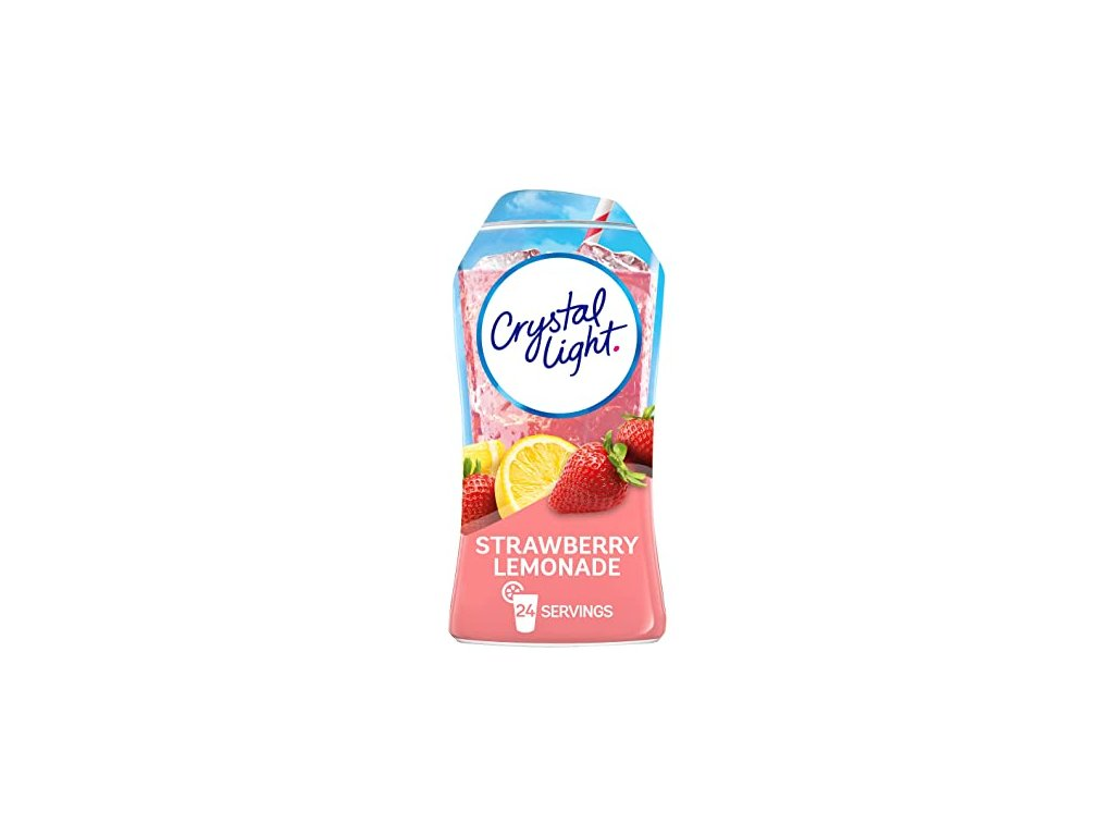Crystal Light Liquid Strawberry Lemonade 48ml