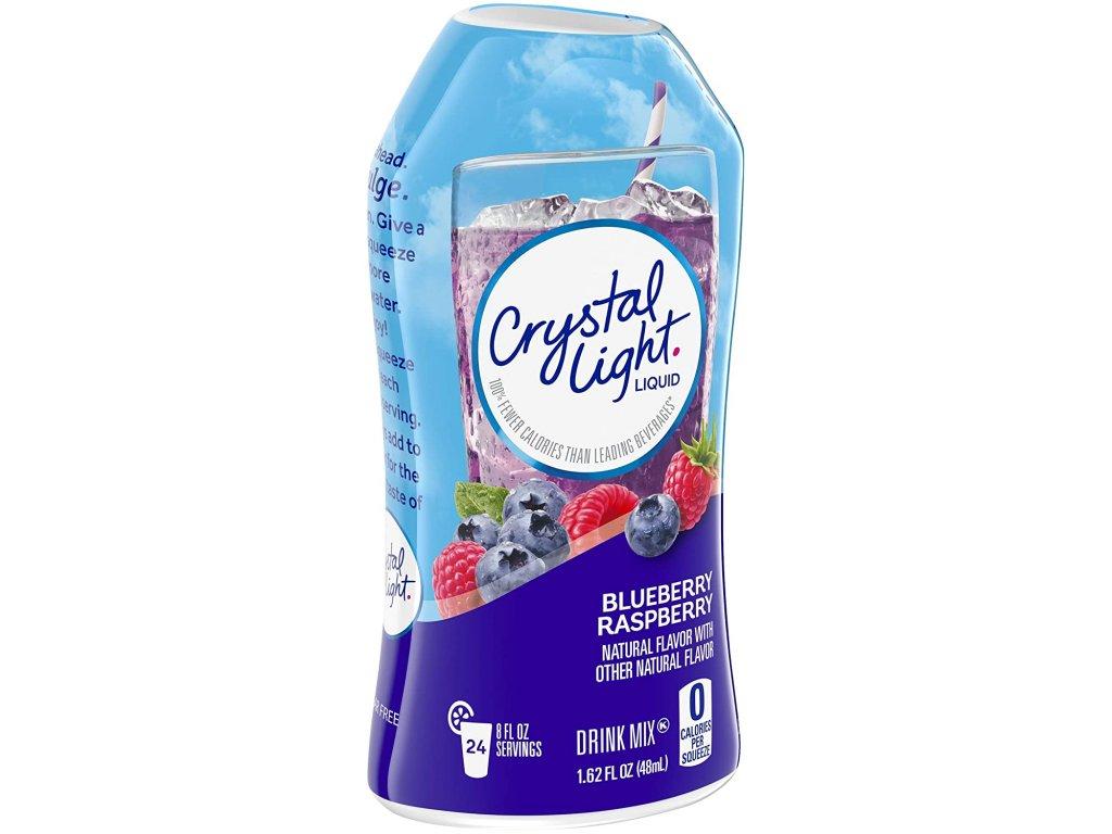 Crystal Light Liquid Blueberry Raspberry 48ml