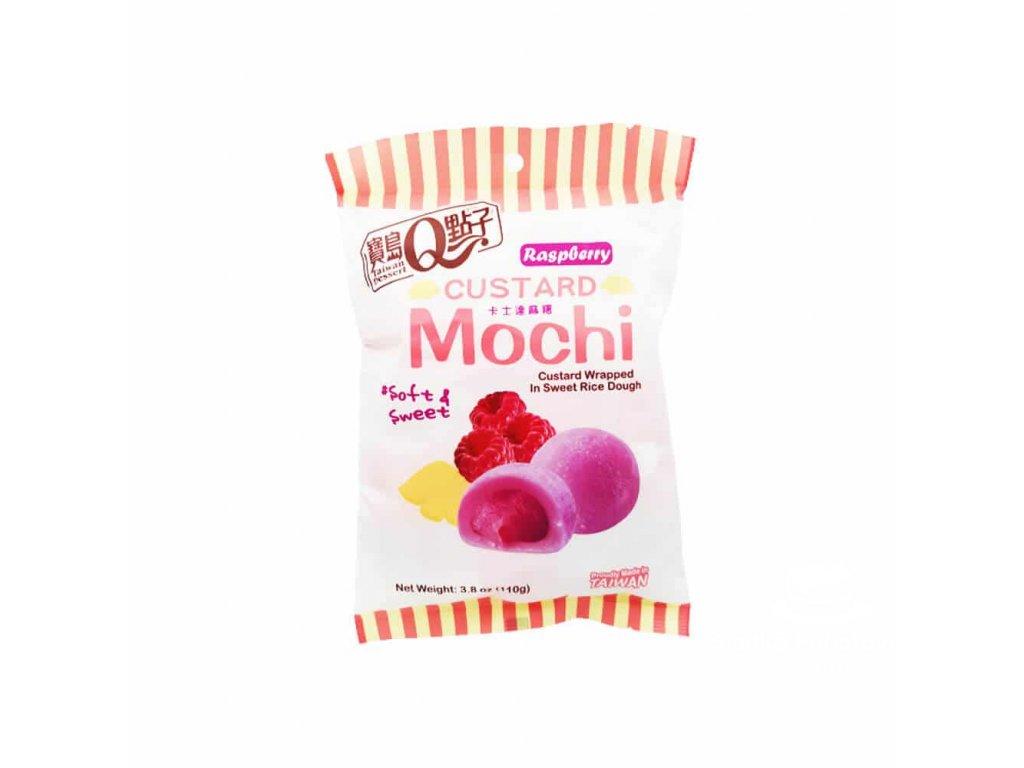Mochi Custard Raspberry 110g