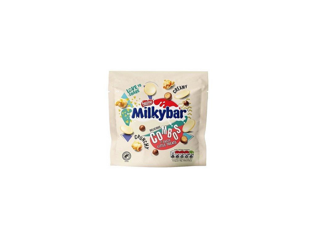 Nestle Milkybar Combos Pouch 110g