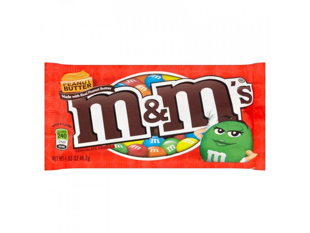 M&M Peanut Butter 24ks 42,6g
