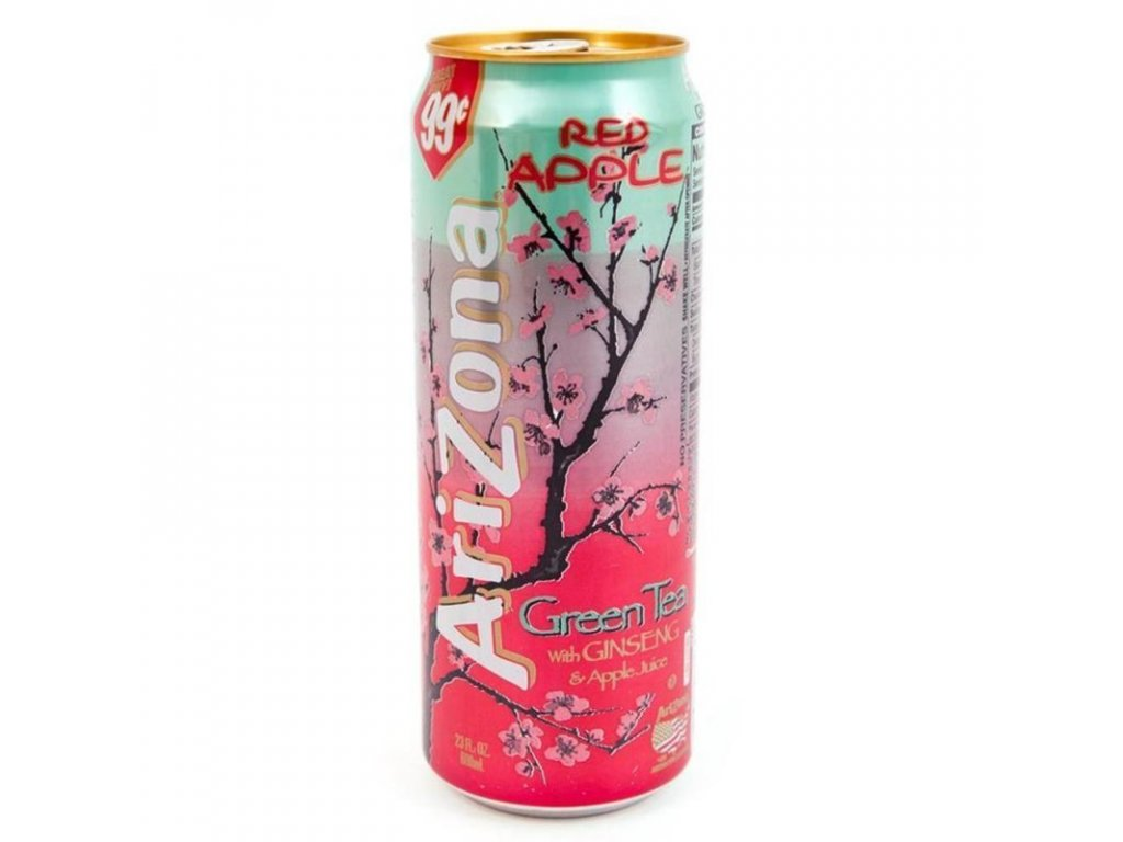Arizona Red Apple Green Tea 680ml