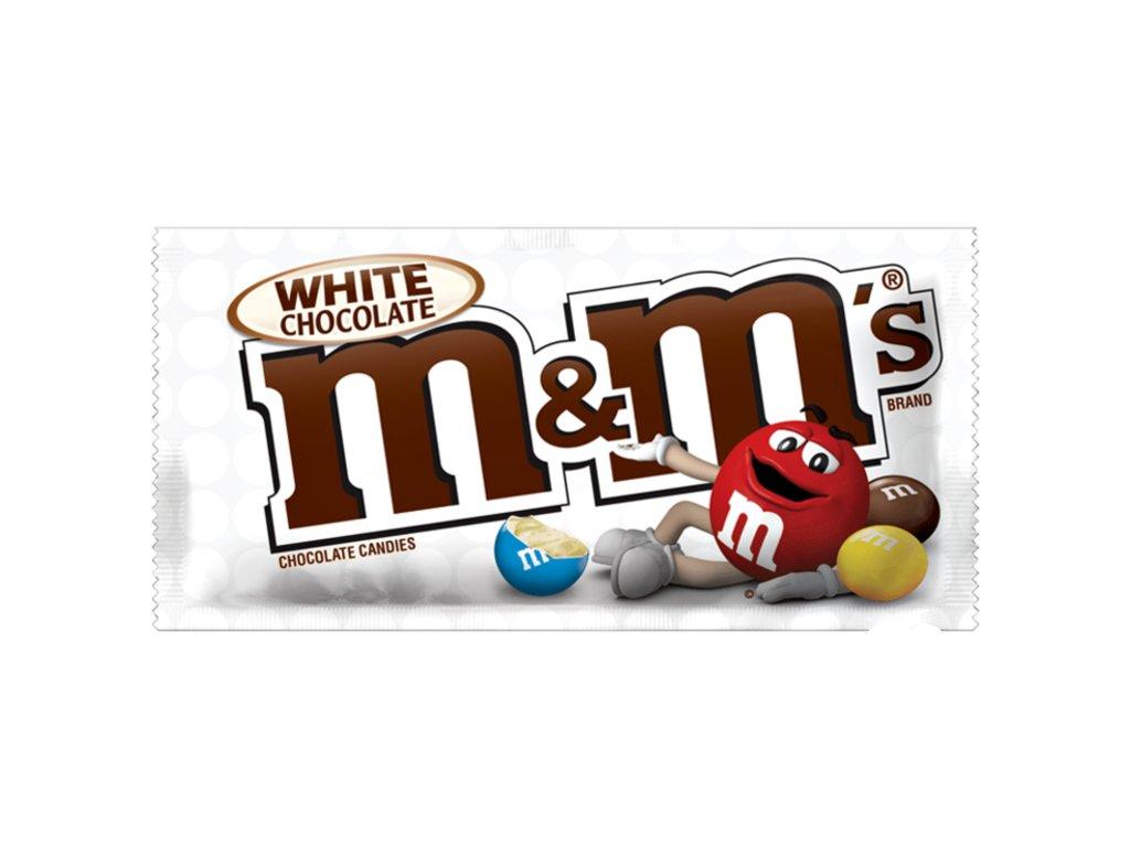 M&M's - White Chocolate 43g