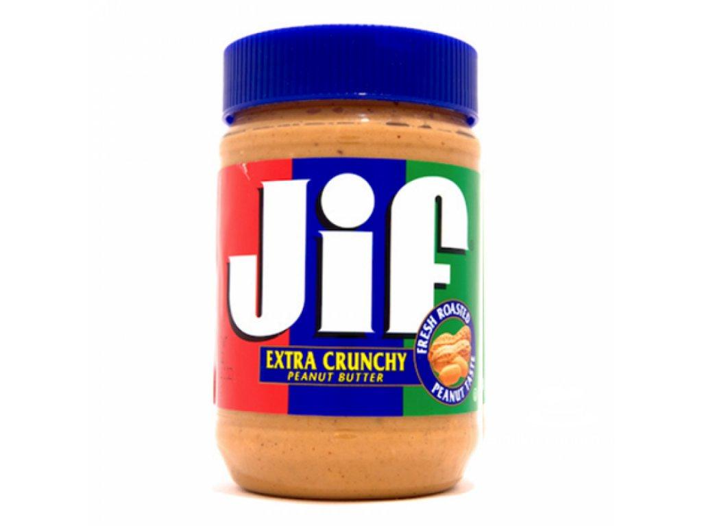 Jif Extra Crunchy Peanut Butter 464g