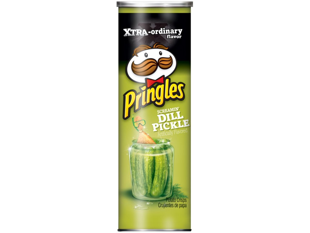 Pringles Screaming Dill Pickle Pringles 158g