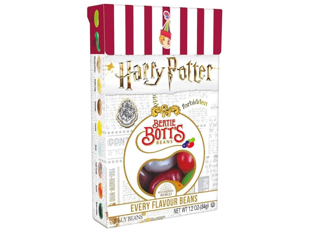 Jelly Belly Harry Potter Bertie Botts Every Flavour Jelly Beans 34g