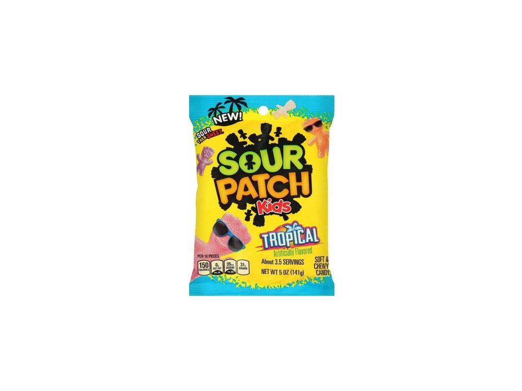 Sour Patch Tropical 141g