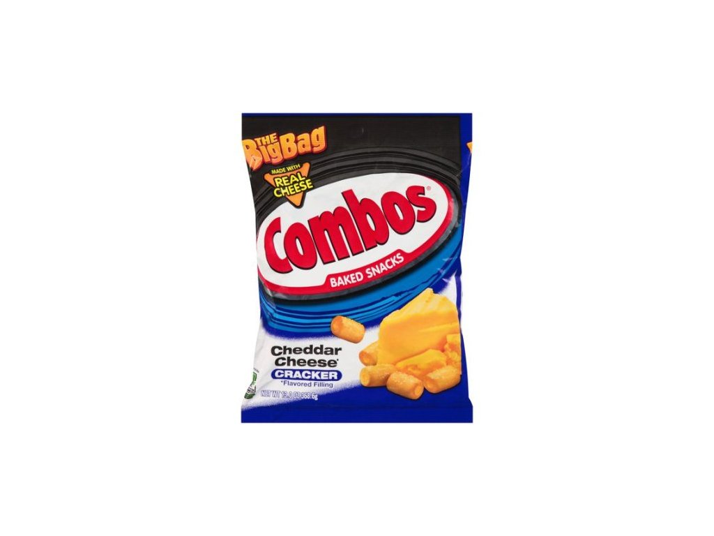 Combos Cheddar Cheese Crackers 178g