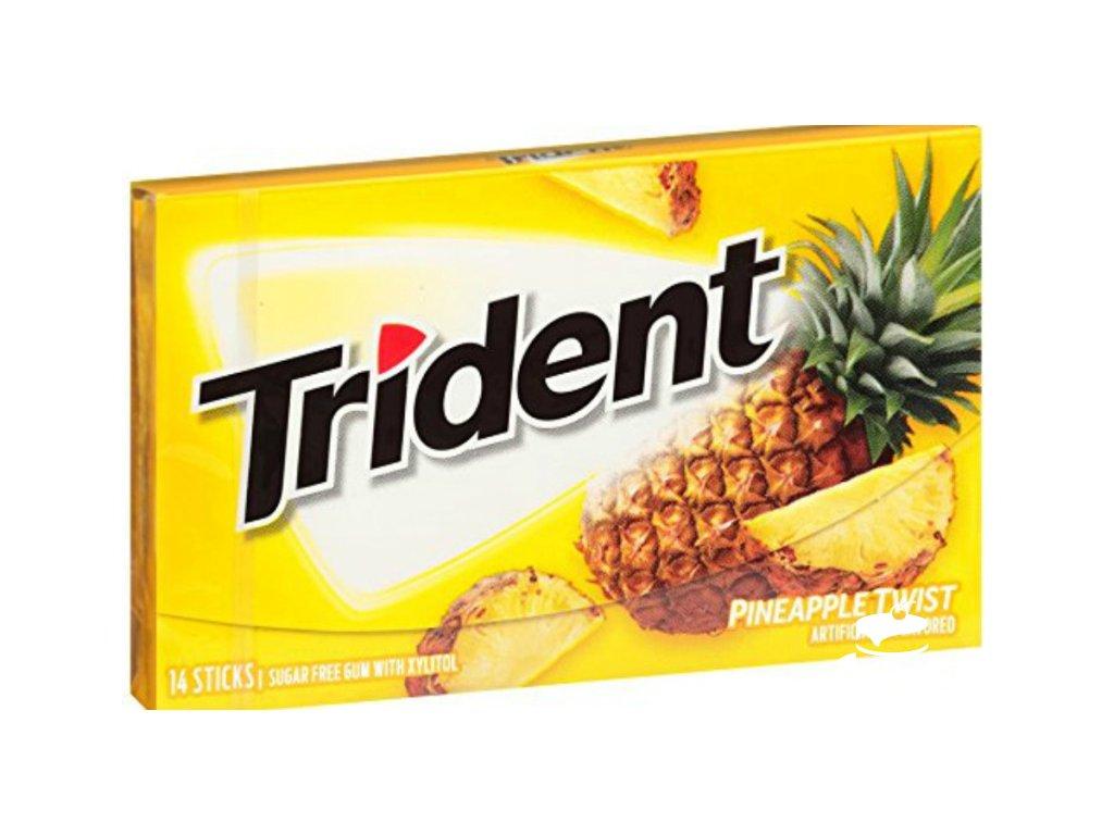 Trident Pineapple Twist Gum 27g