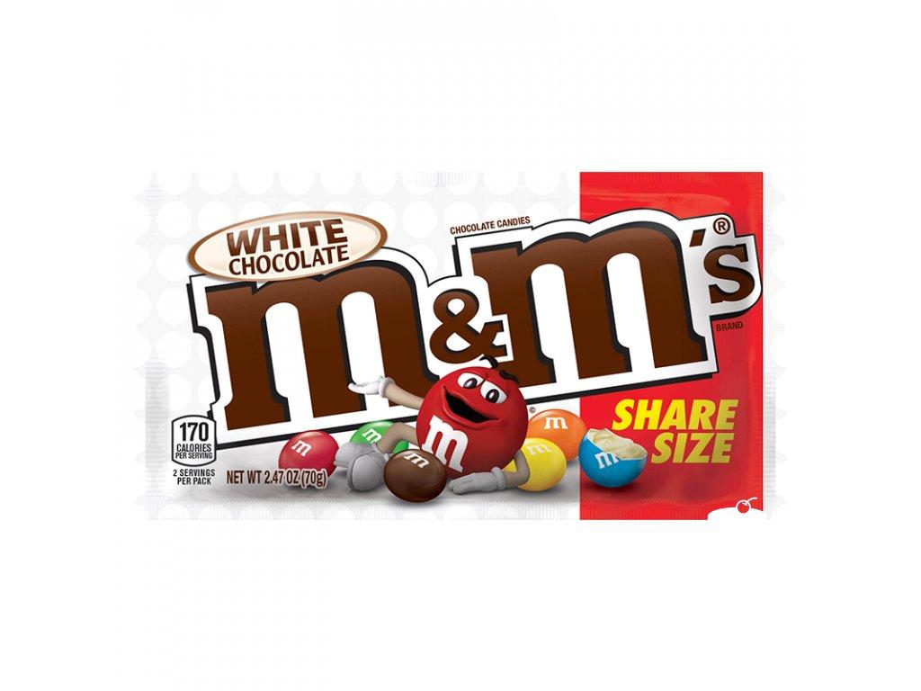 M&M's White Chocolate 70g