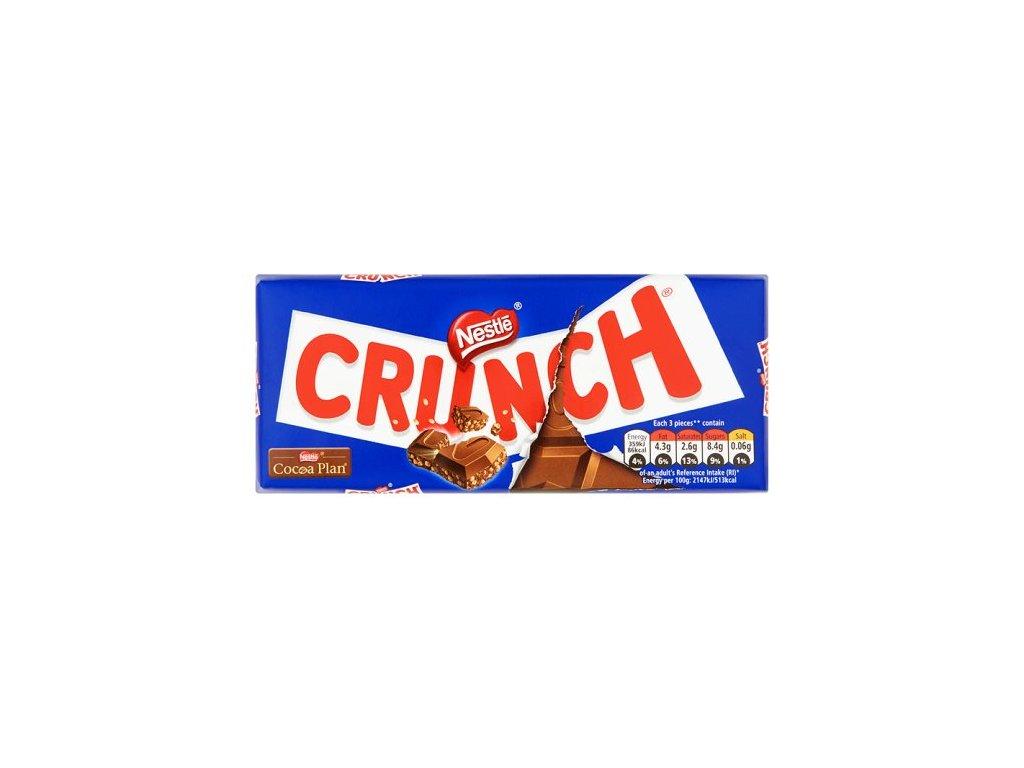 Nestle Crunch Milk Chocolate 100g