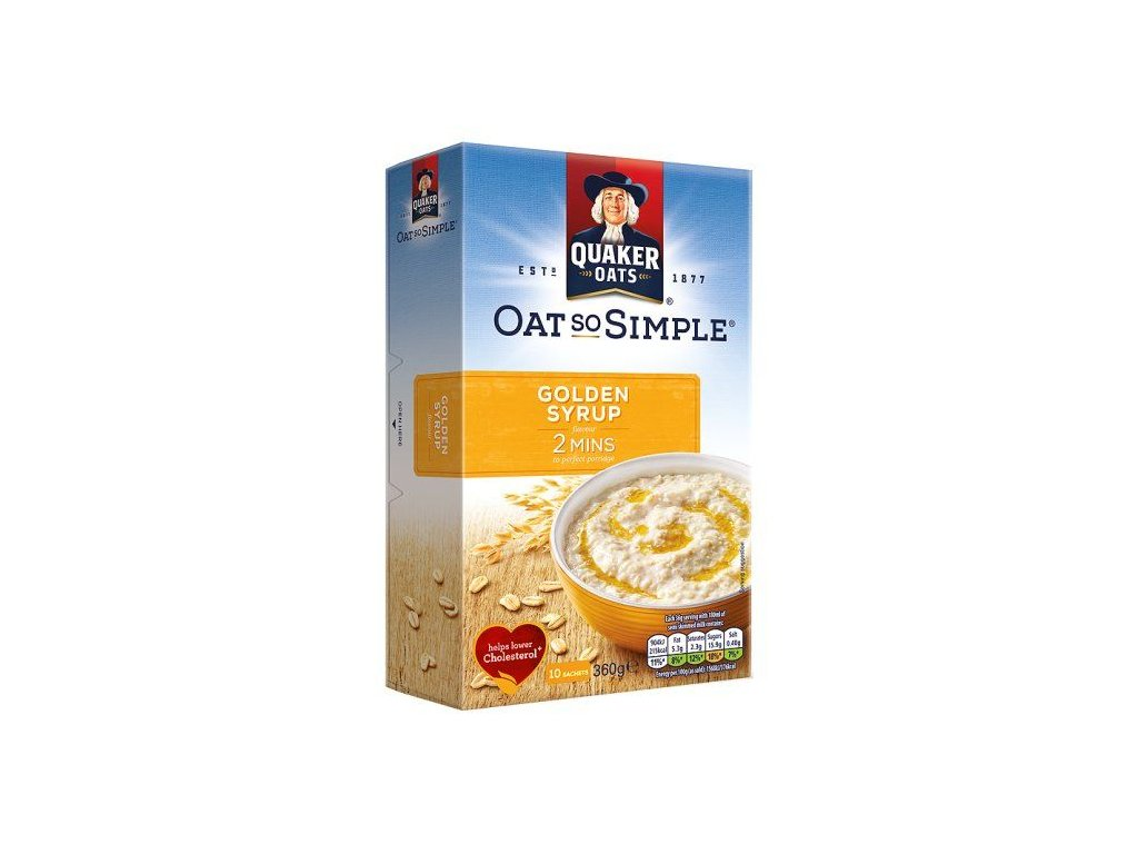 Quaker Oats So Simple Golden Syrup 298g