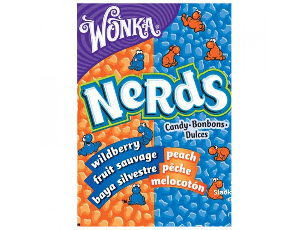 Wonka Nerds Peach / Wild Berry 46.7g