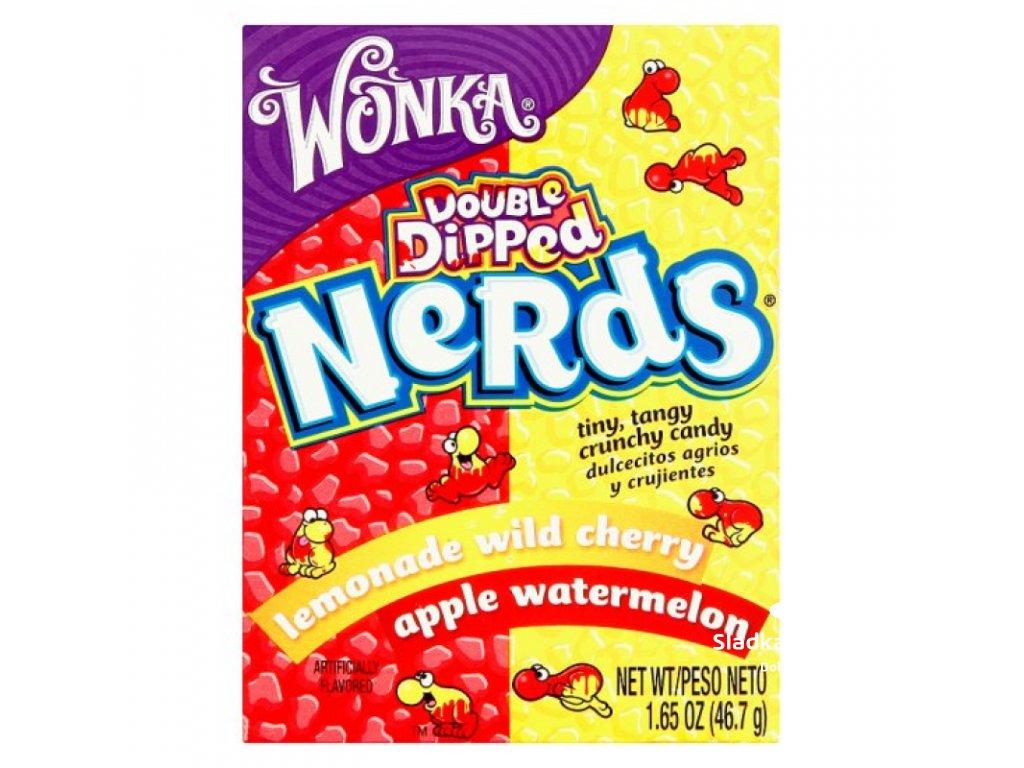 Wonka Nerds Watermelon Apple / Cherry Lemonade 47g