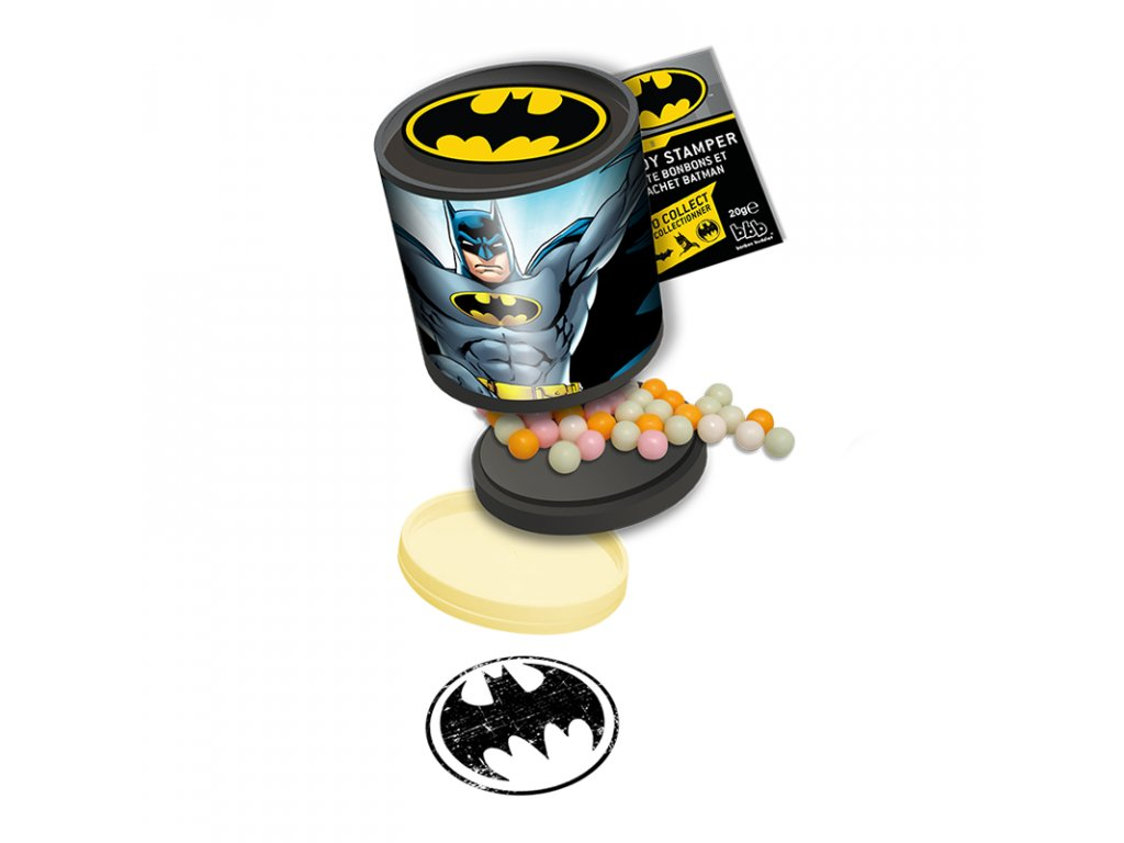 DC Comics Batman Candy Filled Stamper 20g