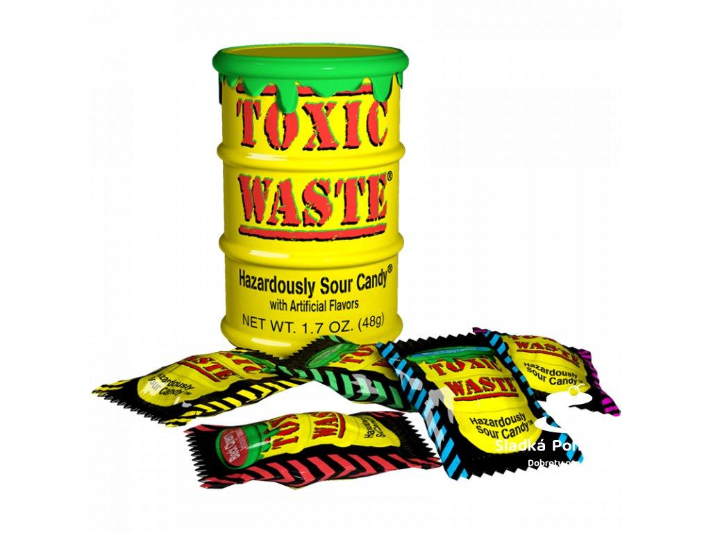 Toxic Waste yellow drum 48g
